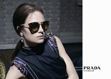 $550 Catwalk PRADA Ladies CINEMA Collection Sunglasses SPR 09Q 2AU 6S1 PR 09QS
