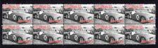 1953 TRIUMPH TR2 STRIP OF 10 MINT AUTO VIGNETTE STAMPS 4