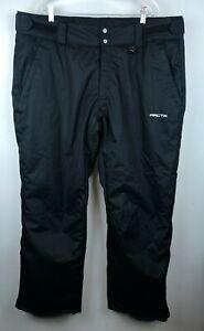 Arctix Women's Insulated Snow Pants, Black, Plus Size 2X Water & Wind Resistant