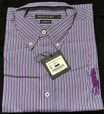 Polo Ralph Lauren Classic Fit Men Long Sleeve Striped Large Shirt Big Pony Style