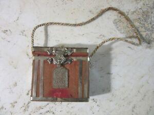 Antique Islamic Hirz prayer box, case