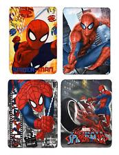 Children Spiderman Blanket Kids Fleece Throw Blanket Marvels Spiderman