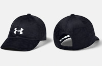 New Under Armour Girls' 8+ UA Play Up Cap Black/White Jacquard Pattern Hat OSFA