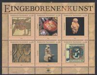 United Nations - Vienna #MiBl18 MNH M/S CV€7.50 2004 Indigenous Art [346]