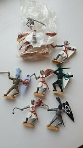 Timpo toy knights Medieval Castle Set Of 7