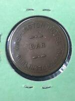 Washington Hotel Bar Burlington Wash Trade Token Gr For .25 Cents Coin R02