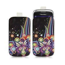 Housse coque étui pochette pour BlackBerry Curve 3G 9300 avec motif HF05