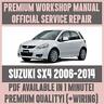 WORKSHOP MANUAL SERVICE & REPAIR GUIDE for SUZUKI SX4 2006-2014 +WIRING