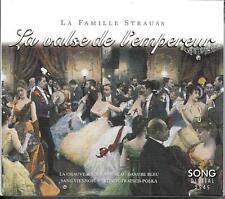 COFFRET 2 CD (BOX SET) 19T LA FAMILLE STRAUSS LA VALSE DE L'EMPEREUR DE 1997 TBE