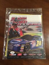 Jeff Gordon Signed 2001 Talladega 500 Souvenir Program JSA COA
