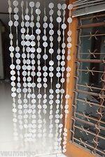 Natural Capiz Round Door Curtain (Beach Wedding, TIKI Bar Decor)