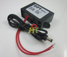 Waterproof 24V AC/DC to 12V 3A Power Converter Adapter for CCTV Camera Security