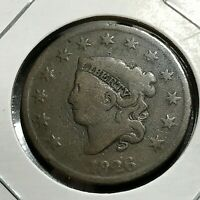 1826 LARGE CENT CORONET HEAD BETTER COIN