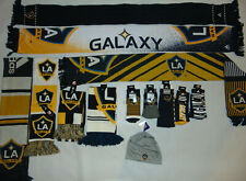 WHOLESALE LOT Adidas NBA Los Angeles Galaxy MLS Soccer Winter Scarf + Socks NEW