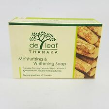 100g De leaf Thanaka Tanaka skin care Moisturizing Whitening soap bar products