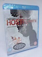 Hostel Part 2 (Blu-ray, 2007) Quentin Tarantino Plays on Playstation 3 Sealed