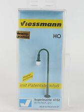 6152 VIESSMANN H0 - FAROL BACULO 76MM VERDE / H0 Swan neck lamp, green, height:
