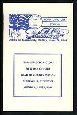 US FDC #2838 // 2838f Unknown Souvenir 1994 Clarksville TN WWII Anniv Unofficial