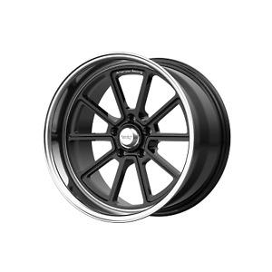 American Racing VN510 Draft 18x10 +0 Black Machined Wheel 5x114.3 5X4.5 (QTY 1)
