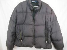 Polo Ralph Lauren Men's Down Puffer Winter Zip Jacket XL Black