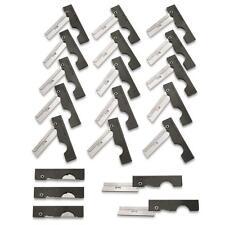 Derma-Safe Utility Folding Razor Knife HR207 - Pack of 20! Black