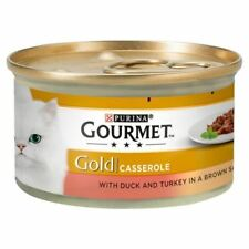 6x Gourmet Gold Duck & Turkey Casserole 85g
