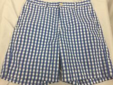 Vineyard Vines Blue Checkered Breaker Short Size 32 Shorts