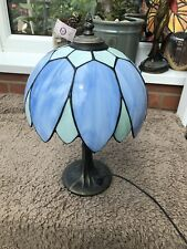 TIFFANY STYLE  STAINED GLASS DESK TABLE LAMP