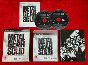 ps3 METAL GEAR SOLID The Legacy Collection + ARTBOOK REGION FREE