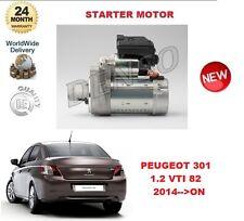 Pour Peugeot 301 1.2 Vti 82 2014> sur Démarreur Moteur