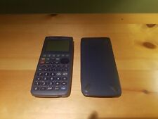 Casio ALGEBRA FX 2.0 Math Graphing Calculator TESTED & WORKS +Cover VERY GOOD!