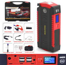 Car Jump Starter 69800mah Portable Charger Power Bank With Led Flash Light 600a