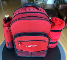 THE WEST WING. PICNIC KNAPSACK. 2OO3 CAST GIFT. NEW CONDITION