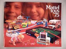 Mattel Toys CATALOG - 1975 ~~ toy