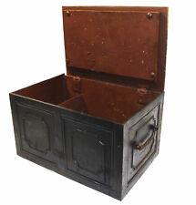 Antique cast iron safe strong box