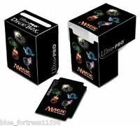 MANA SYMBOLS SERIES IV TOPLOADING ULTRA PRO DECK BOX CARD BOX FOR MTG CARDS