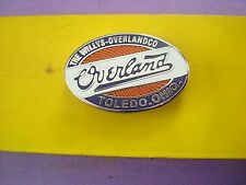 OVERLAND EMBLEM  OVERLAND JEEP WILLY'S ENTHUSIASTS COLLECTORS NICE PIN