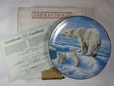 Kings Of The Hill Plate 1 Treasures of The Arctic Series Bradfd Exch COA Org Box