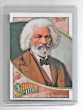 2009 Upper Deck Football Heroes Frederick Douglas #27/35 Historical Card