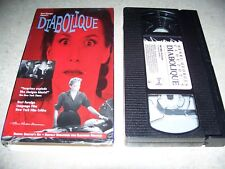 Diabolique (VHS, 1997, Original Director's Cut - Remastered) French w/ Eng Subs