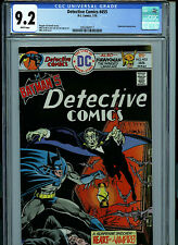 Detective Comics # 455 CGC 9.2 NM-  Batman 1976 White Pages Comic Amricons K17