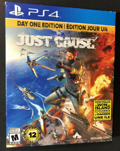 Just Cause 3 [ Limited Edition STEELBOOK ] (PS4) USED