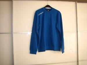 Uhlsport Herrenfußballsweatshirts azurblau neu mit Etikett