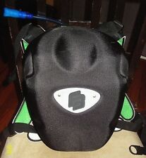 Bicycle Hydration back pack carrying case w/ new bladder & mouth piece & storage