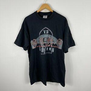 VINTAGE Gods Anointed Now Generation Sydney Shirt Size XL Black Made USA