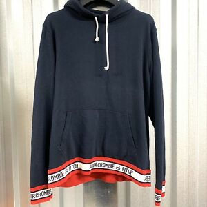 Mens Abercrombie & Fitch Hoodie / Hooded Logo Sweatshirt Size Medium *VGC*