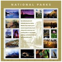 National Parks Sheet of Forever USPS Postage Stamps. Mint MNH