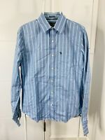 Abercrombie & Fitch Men's Polo Shirt Top Long Sleeve Collared Size XS/S Striped
