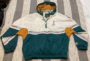 Vintage 1996 Starter Atlanta Georgia Summer Olympic Windbreaker XL