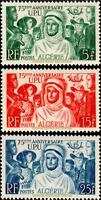 EBS French Algeria 1949 - Universal Postal Union (U.P.U.) - DZ 276-278 MNH**